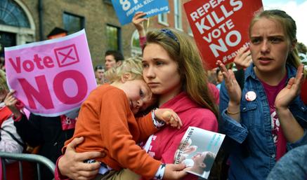 Cómo cambiará a la Iglesia en Irlanda el referéndum del abort