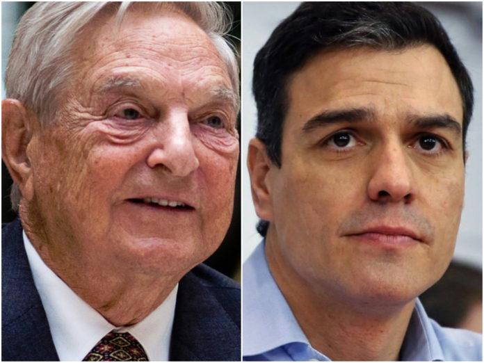 ¿Qué se esconde detrás de la reunión secreta entre Sánchez y Soros?