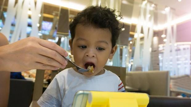 Los pediatras recomiendan no usar pantallas en menores de 18 meses